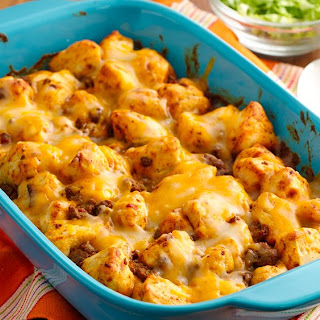 Cheesy Mexican Bubble-Up Bake