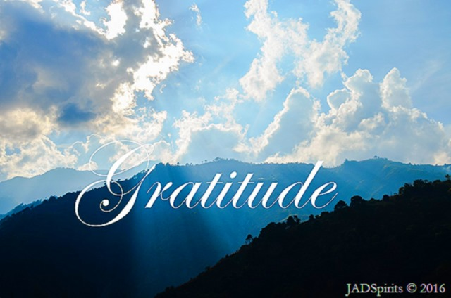 My One Word for 2016 - Gratitude