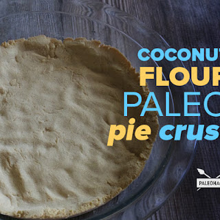 Coconut Flour Paleo Pie Crust