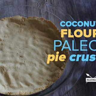 Coconut Flour Paleo Pie Crust Recipe