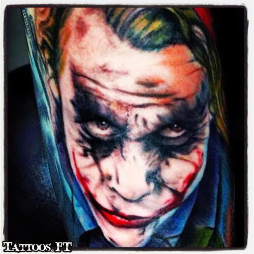 Joker batman tattoos pictures tattoos ideas for Joker batman tattoo