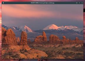 Aplicaciones para trabajar en Ubuntu GNOME y también para disfrutar. Eye of GNOME.