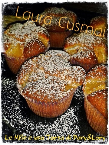 muffin all'ananas... sofficissimi e profumati