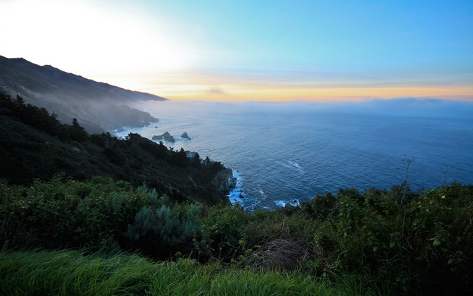 Big Sur Sunrise by Andy Wilde1