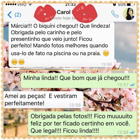 Cliente Menina Lili Croche - Carol