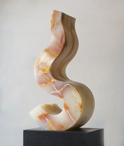 Lifting Mist: TURKISH ONYX, 2013; W 25 cm, H 76 cm, D 33 cm; £10,000