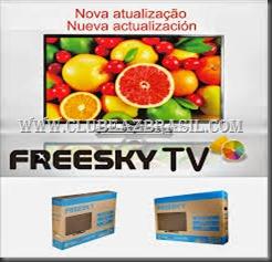 ATUALIZAÇÃO FREESKY TV