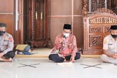 Tingkatkan Kualitas Iman dan Taqwa, Kapolres Subang Gelar Binrohtal di Masjid Muhamad Al-Baqi
