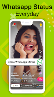 Roposo - Video Status, Earn Money, Friends Chat Screenshot