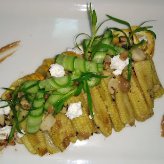 Roasted Baby Corn and Zucchini Salad Recipe