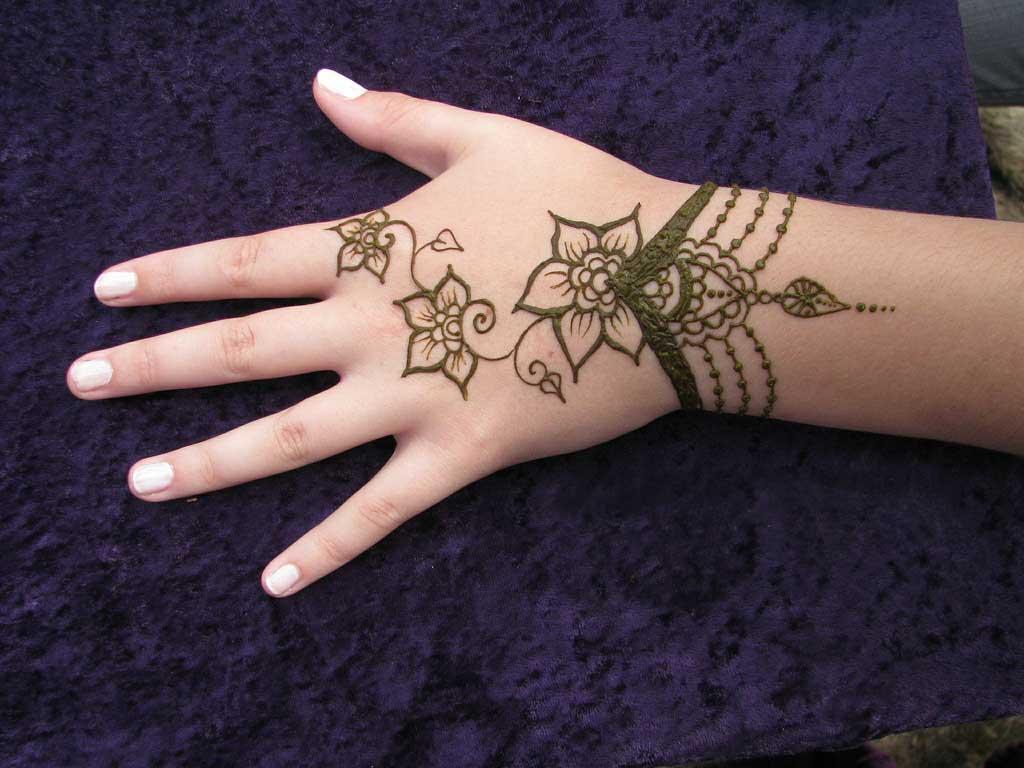 Wrist Mehndi Designs New Clothes Tatto Baeuty