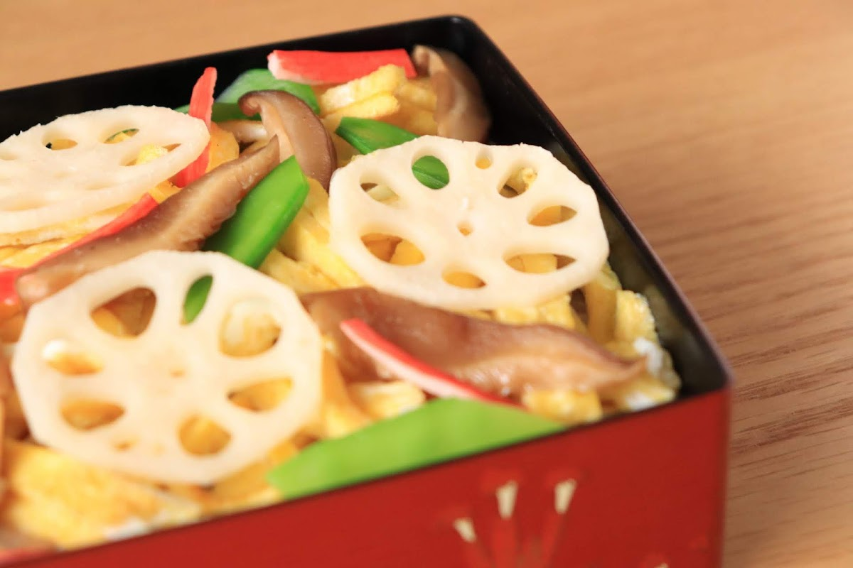 笠ちゃん五目ちらし寿司(ノンストップで笠原将弘が紹介)のレシピ