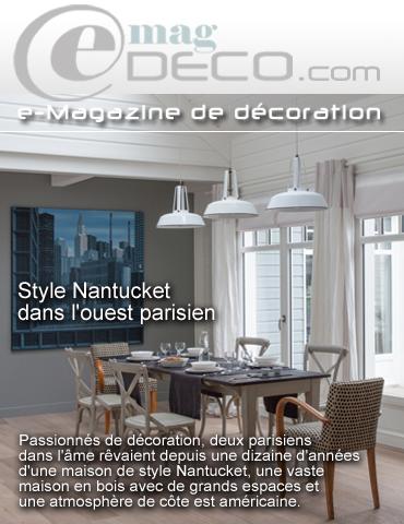 Couverture du magazine de décoration e-magDECO