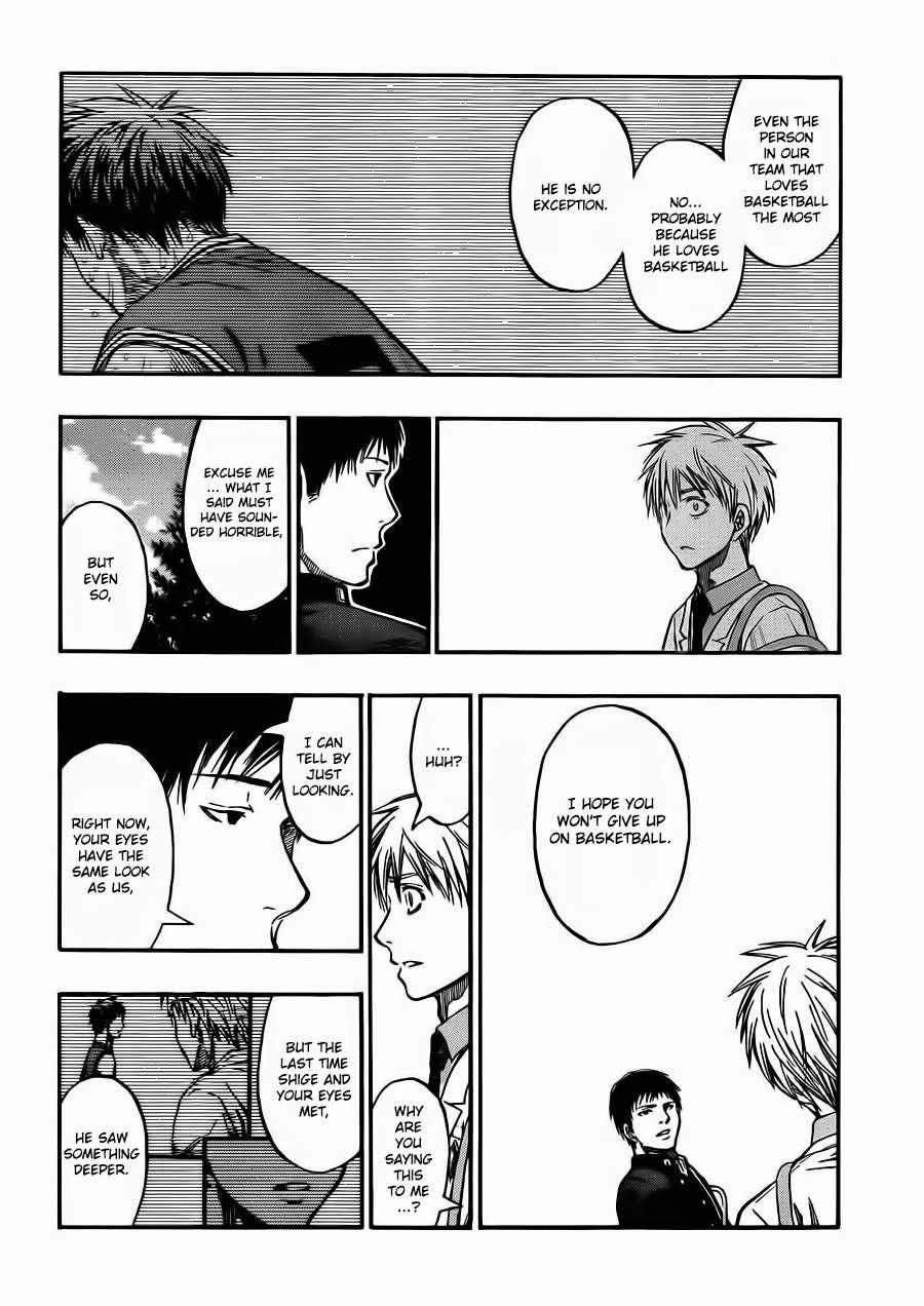 Kuroko no Basket Manga Chapter 227 - Image 12