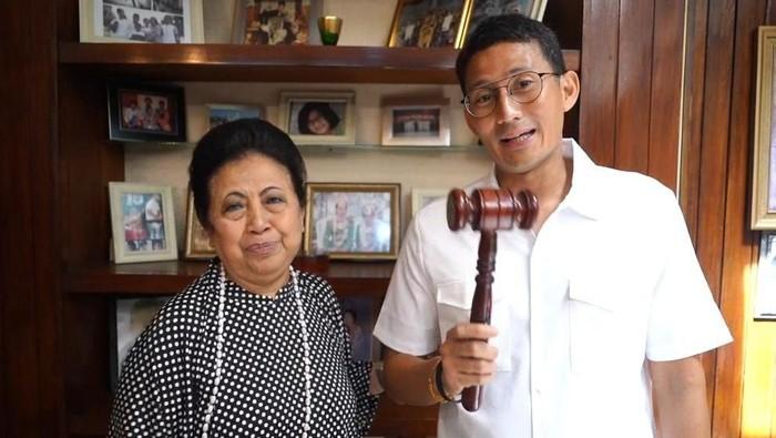 Sandiaga Uno Tolak Ahok Jadi 'Gubernur' Ibu Kota Negara Baru