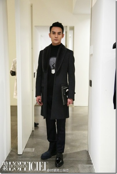2016.01.18 Wang Kai X Milan Fashion Week AF16 X FENDI 王凱 2016秋冬男裝週 11