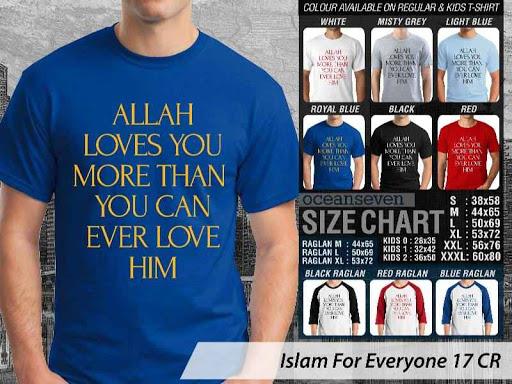 Kaos Distro Islami For Everyone 17 distro ocean seven