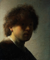 rembrandt, self-portrait, early, 1628