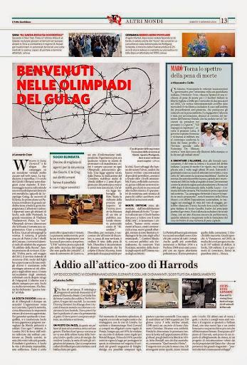 Leonardo Coen per Il Fatto quotidiano 11.01.2014