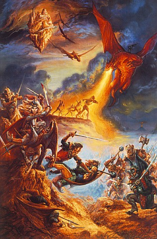 Battle Of Humans And Dragons, Magick Warriors 5