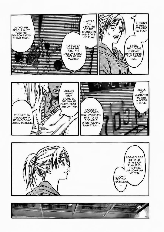 Kuroko no Basket Manga Chapter 222 - Image 12
