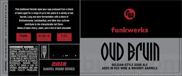 Funkwerks Oud Bruin Returns In 2018 Barrel Room Series