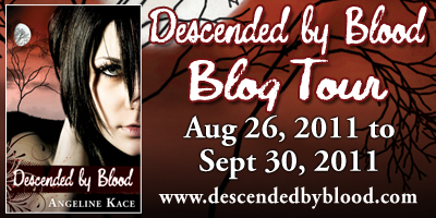 Descended by Blood Blog Tour Information