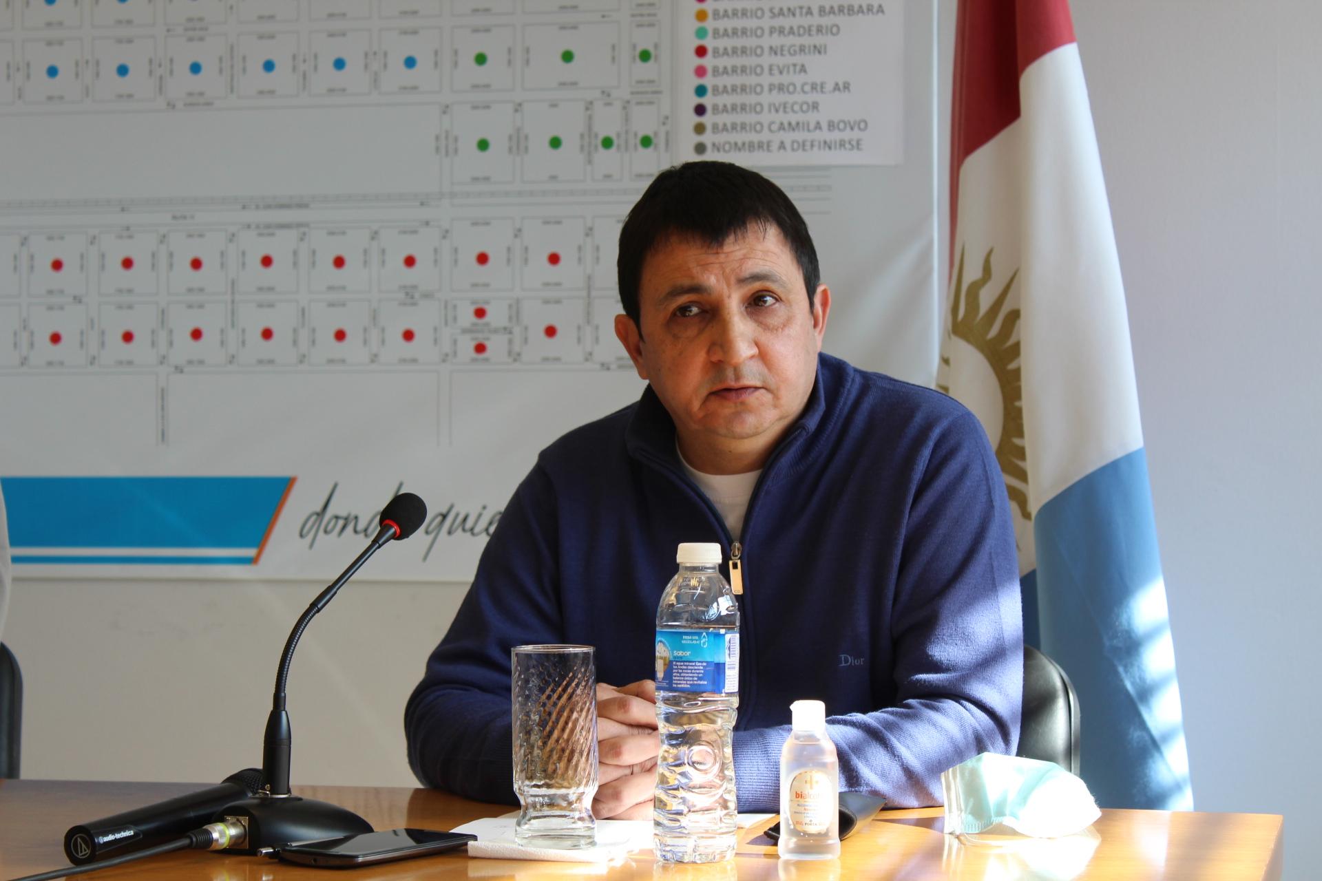 Secretario de Gobierno Ignacio Silva