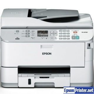 How to reset Epson PX-B750F printer