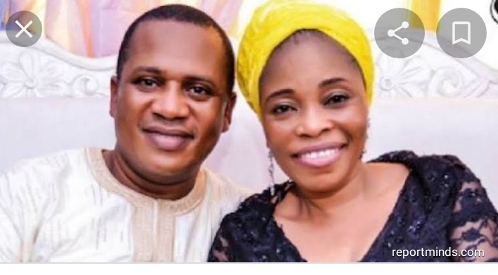 Gospel Musician, Tope Alabi Celebrates Her Husband, Soji Alabi Birthday With Loved Up Photo