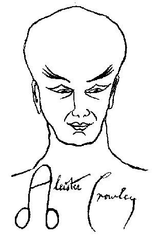 Ac Idealized Self Portrait, Aleister Crowley