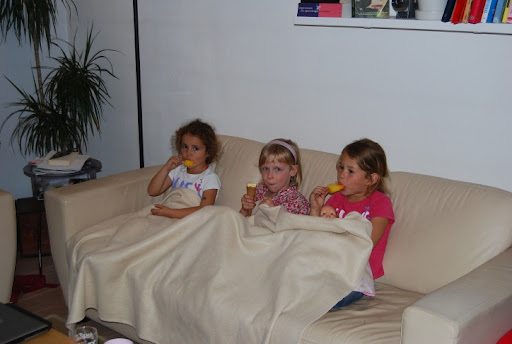 Meisjeswiskunde: ijsjes + dekentje + TV = rust