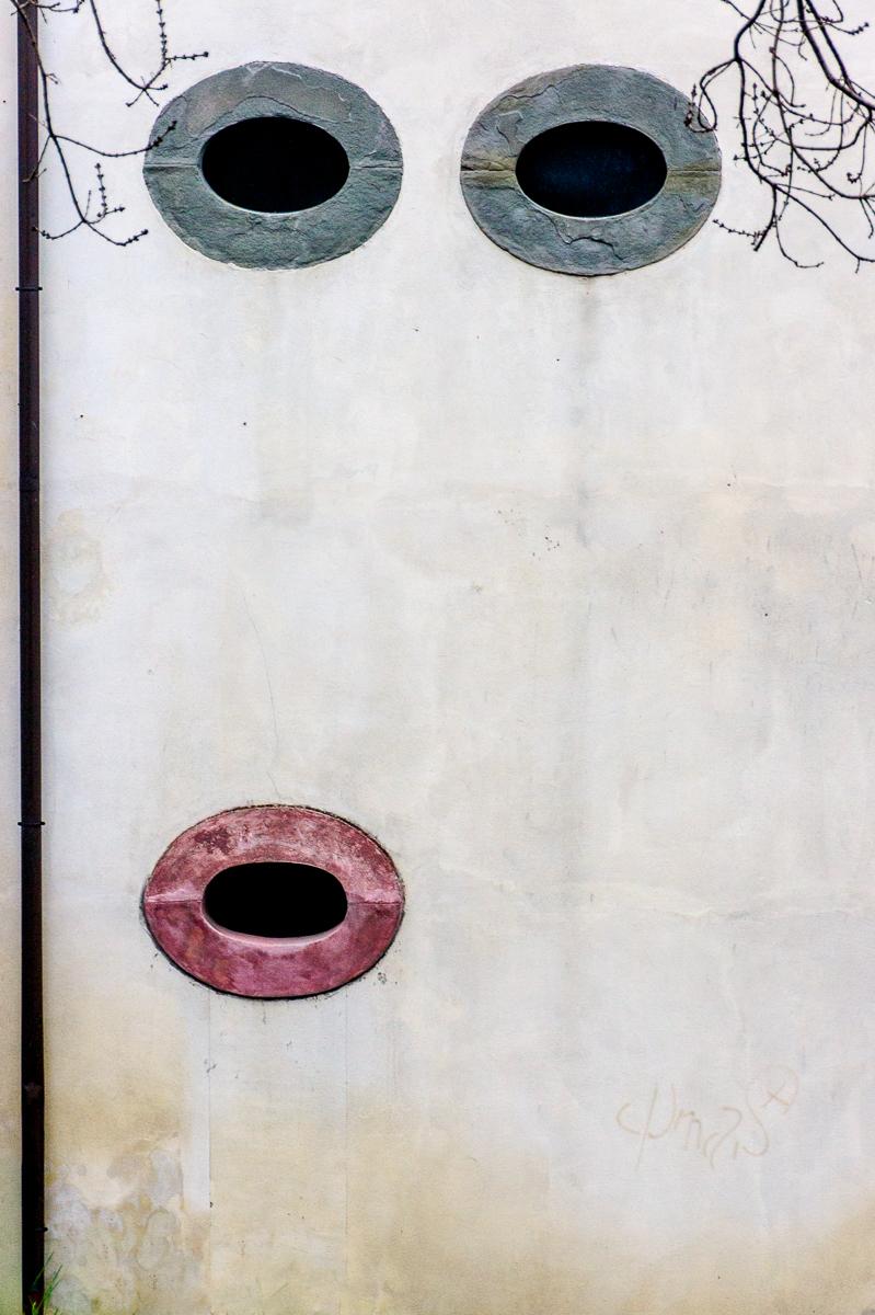 ritratto murale di alberto raffaeli