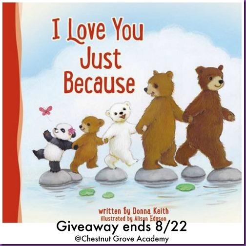 I Love You Giveaway