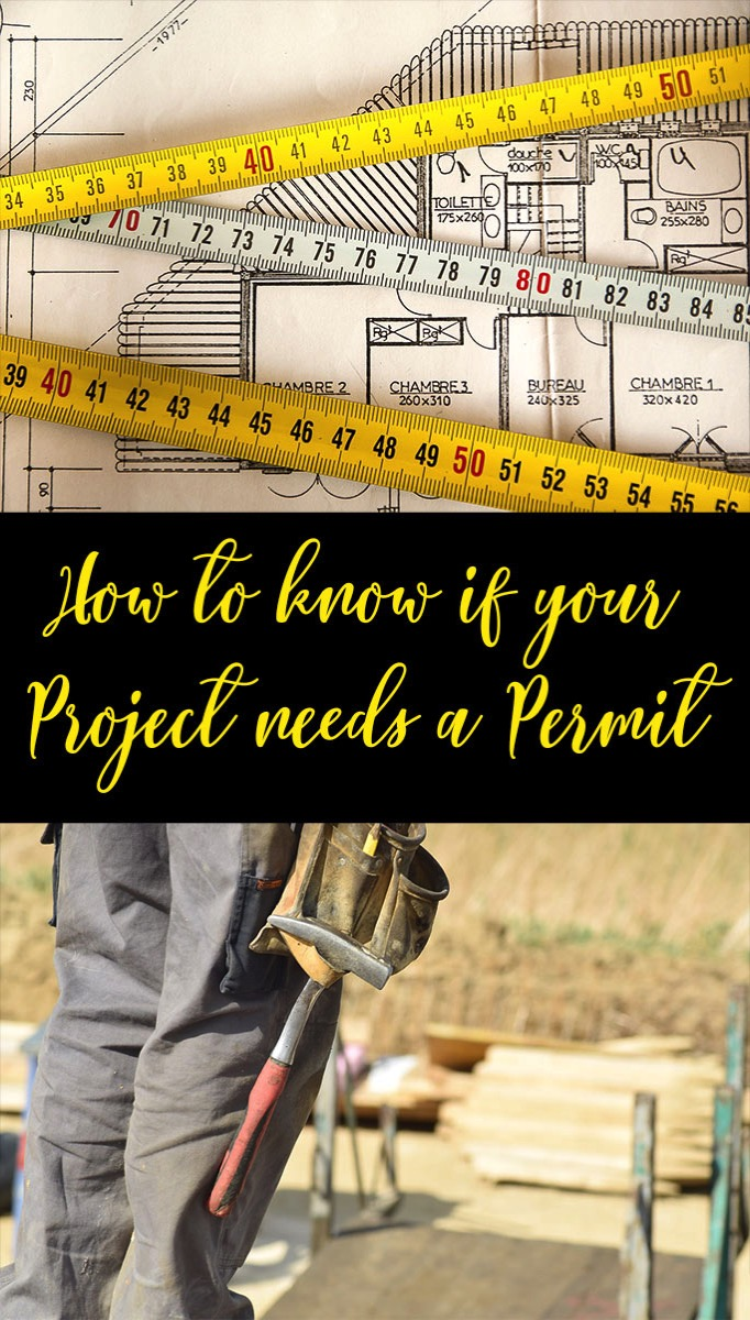 Working on DIY project and want to know if you need a building permit?  This has great info about the types of projects that may require you to pull a permit.
