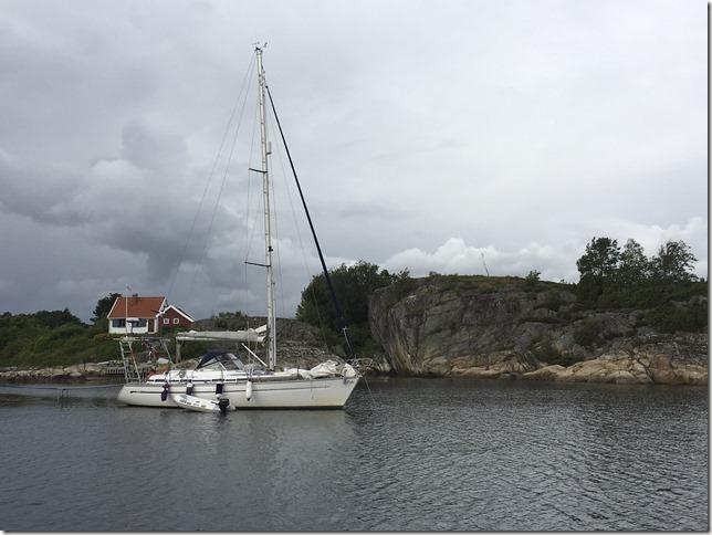 S/Y Oda i Pjolter Bay (Risholmen)