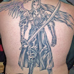 full back - Final Fantasy Tattoos Pictures