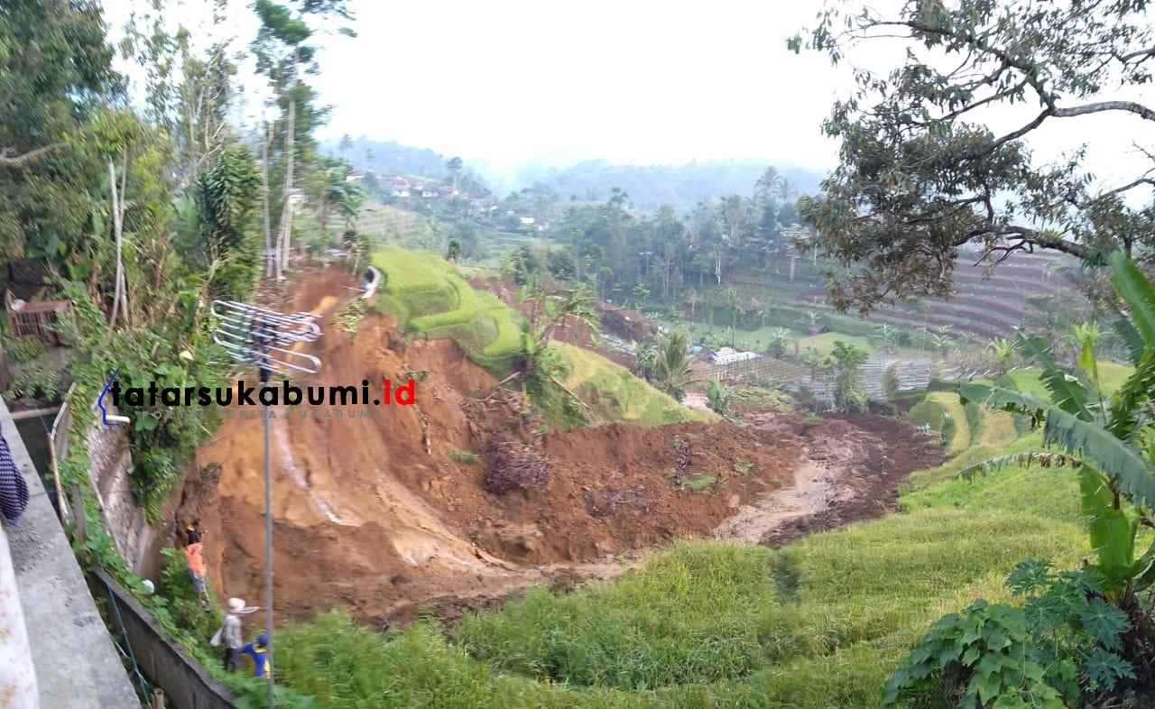 Hujan Pertama Musim Kemarau Longsor Ancam Kabandungan Sukabumi