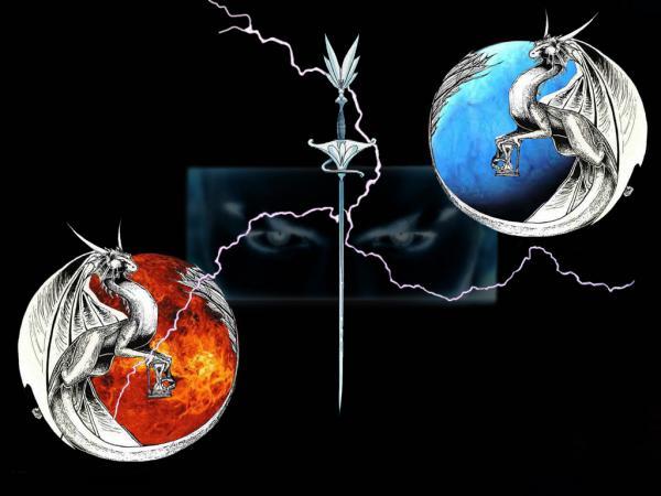 Dragon Malediction, Dragons