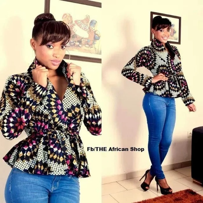 Beautiful Ankara jacket styles - 2018 , 2018 (7)