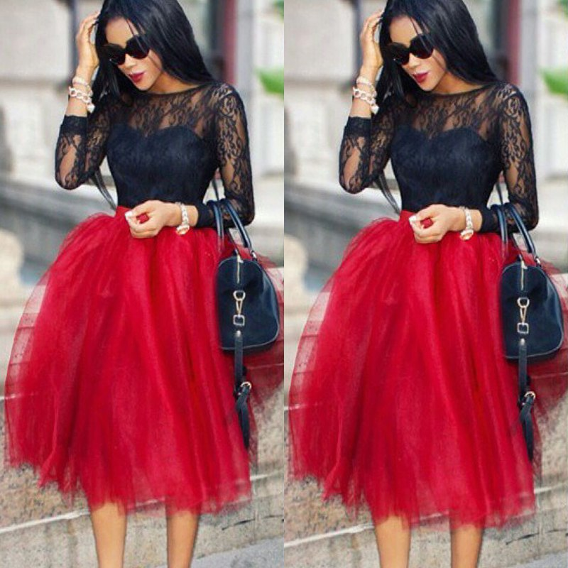 BEAUTIFUL COLLECTION OF TULLE DRESS AND SKIRTS FOR AFRICAN WOMEN 3