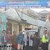Sat Lantas Polres Sukabumi Pasang Sarana dan Prasarana Jalan di Kampung Tertib Lalu lintas