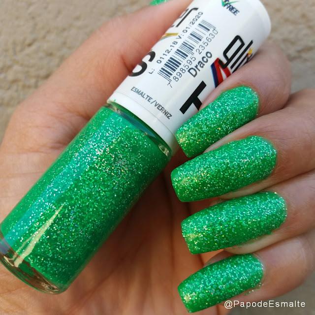 Draco Coleção Glitter Holográfico Hits Speciallità