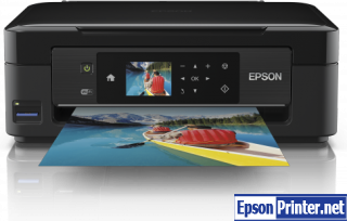 How to reset Epson XP-423 printer