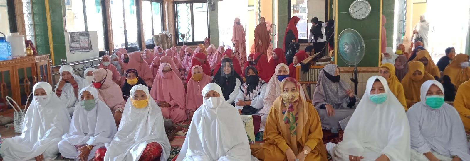 Majelis Dzikir Raodhatul Jannah Kabupaten Soppeng Road Show di Mesjid Nurul Falah Desa Patampanua yang Dihadiri Kabad Kesra
