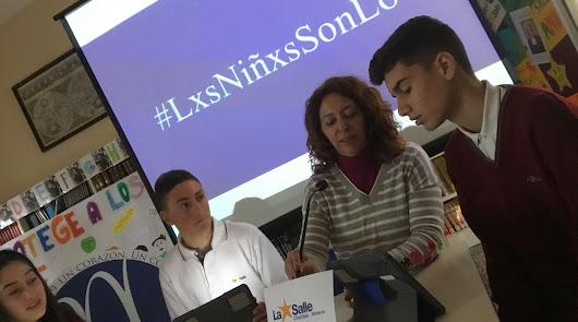 Estudiantes de La Salle Chocillas lanzan una campaña sobre los derechos del niño