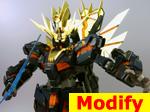 Earth Federation Forces (EFF) RX-0[N] Unicorn Gundam 02 Banshee Norn