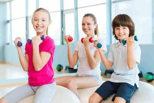تمارين رياضية للاطفال في المدرسة