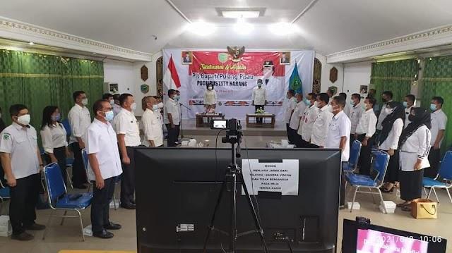 Silaturahmi bersama Kepala SOPD, Ini Arahan Plt Bupati Pulpis