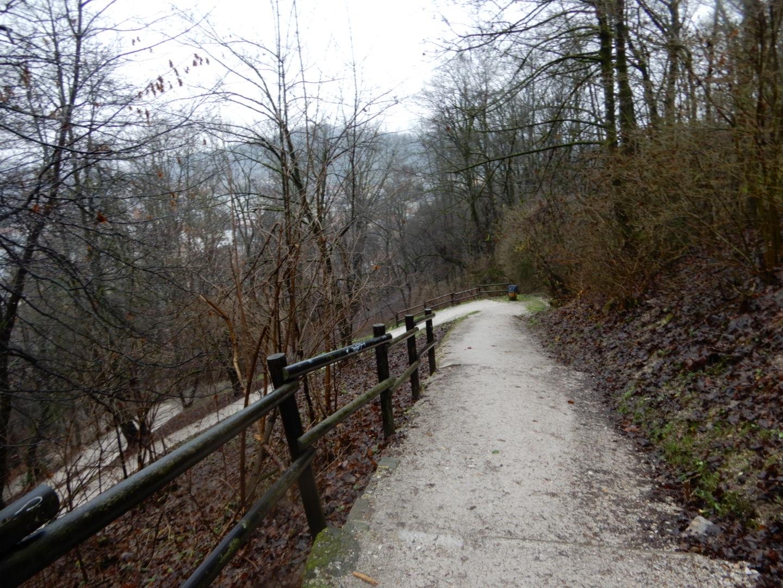 リュブリャナ城への道のり